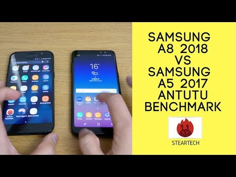 Samsung Galaxy A8 vs Samsung Galaxy a5 2017 antutu benchmark.