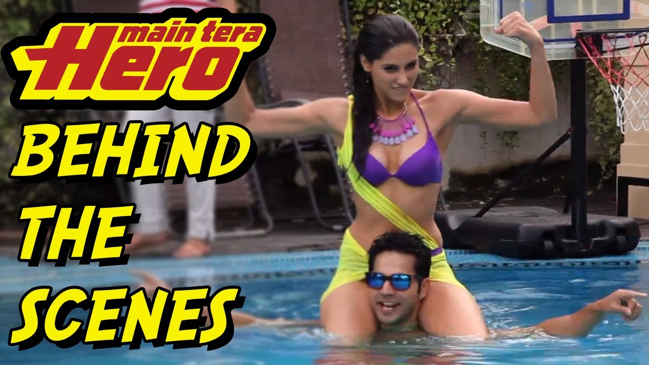 behind the scenes of the making of main tera hero youtube