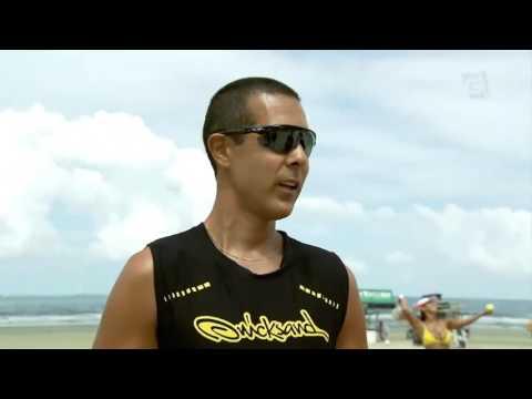 Vida de Atleta - Beach Tennis com Thales Santos e Marcus Vinicius (01/05/16)
