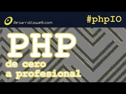 Ruta PHP de cero a profesional #phpIO