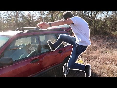 Can You Break a Car Window By Kicking It?
