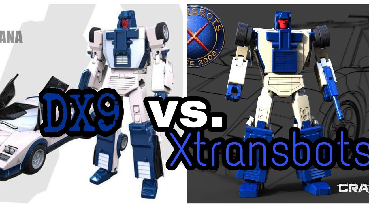 dx9 vs xtransbots which mp style stunticons will rule