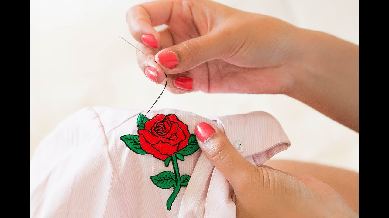 Image Result For How To Sew A Patch On A Shirt By Hand
