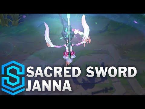Sacred Sword Janna Skin Spotlight - Pre-Release - League of Legends