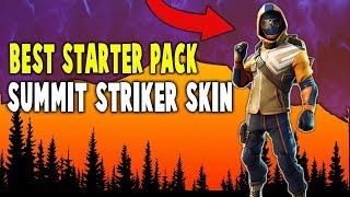 Best Starter Pack Summit Striker Skin!! (Nintendo Switch) - Fortnite Battle Royale