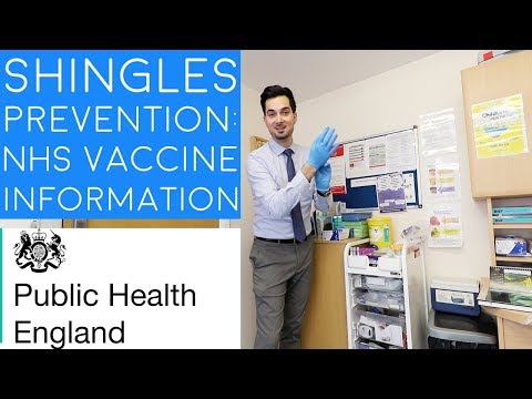 Shingles Vaccine NHS | How To Prevent Shingles | Shingles Virus Information Causes & Symptoms (2018)