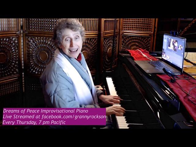 Dreams of Peace Improvisational Piano, Beth Green, 11-14-2019