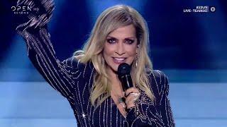 Η Άννα Βίσση τραγουδά διάφορες επιτυχίες στην σκηνή του J2US | J2US | OPEN TV