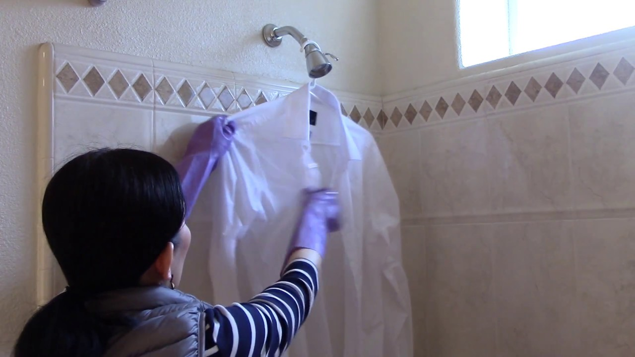 How To Hand Wash A White Dress Shirt Youtube