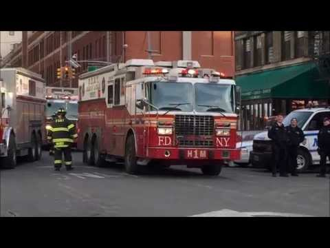 FDNY, NYPD & NYCEMS SERVICES RESPONDING & ON SCENE OF MAJOR BUILDING COLLAPSE IN MANHATTAN.
