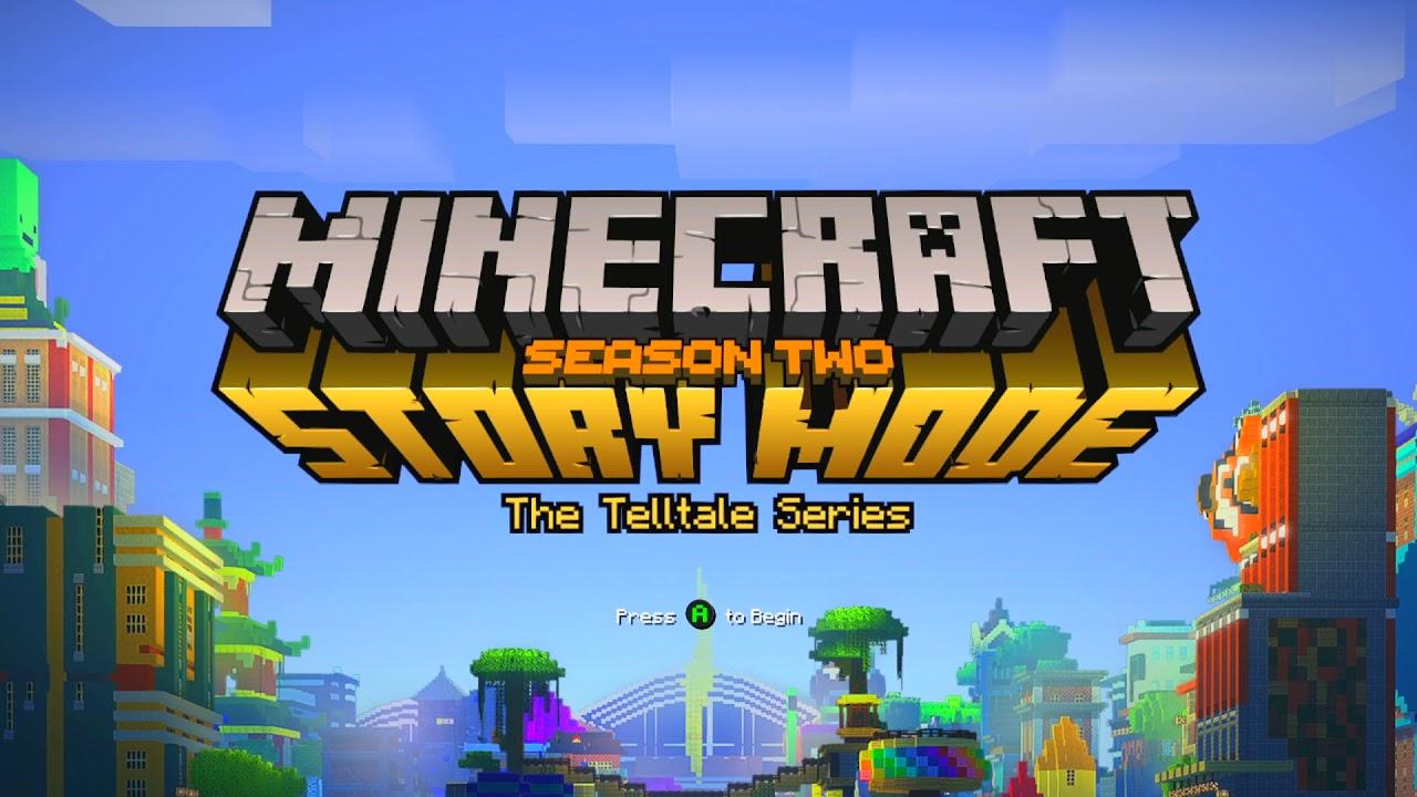 Minecraft Story Mode Season 2 Title Screen Pc Ps4 X1 X360