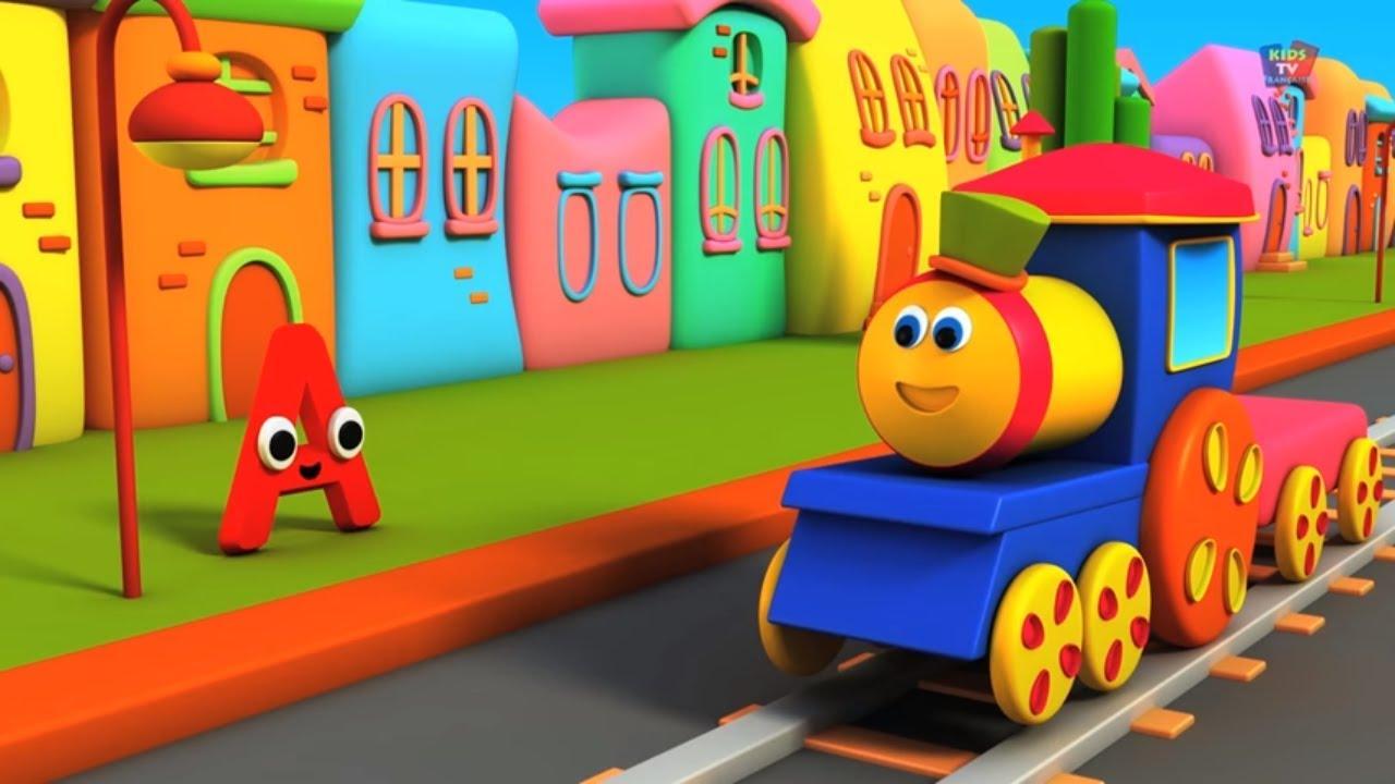 bob le train aventure alphabets apprendre l 39 abc en fran ais bob and abc alphabet. Black Bedroom Furniture Sets. Home Design Ideas