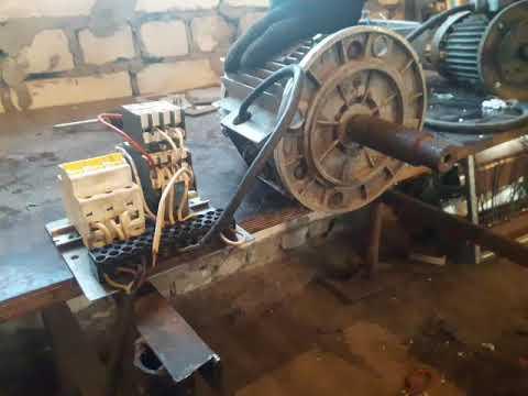 Електро тормоз в роботе