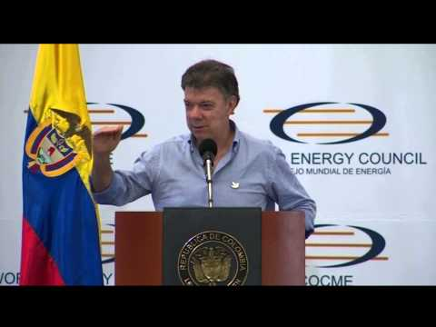 Speech of Colombian President Juan Manual Santos at the World Energy Council