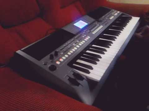 yamaha psr s670 sequencia 16 track youtube. Black Bedroom Furniture Sets. Home Design Ideas