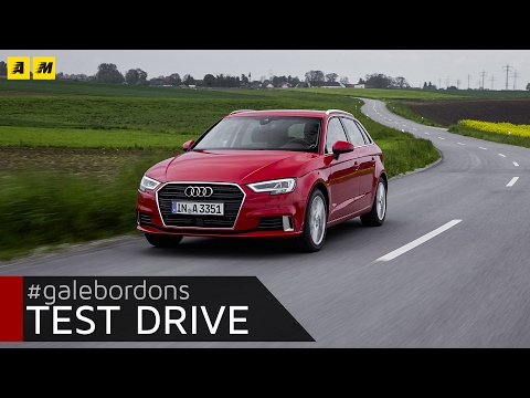 Audi A3 Sportback | Test drive #AMboxing [ENGLISH SUB]