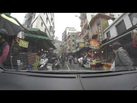 Stuck at Tamsui Market, New Taipei City-Taiwan