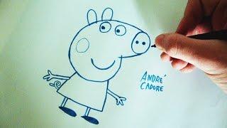 Como Desenhar a Peppa Pig - (How to Draw Peppa Pig) - SLAY DESENHOS #105