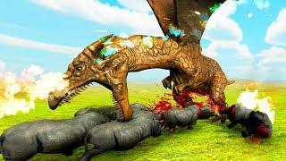 ДРАКОН И МАГИ! ОБНОВЛЕНИЕ! Beast Battle Simulator (8 серия)