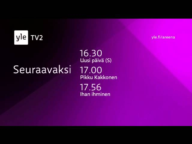 Yle TV2 HD - Continuity 03-02-2015 [King Of TV Sat]