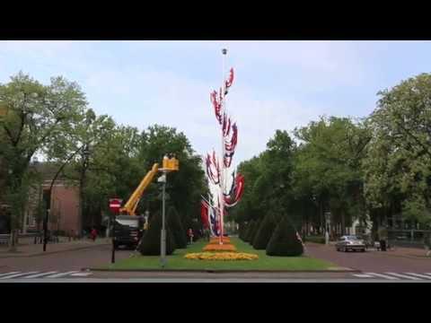 De vlaggenmast van Zeist