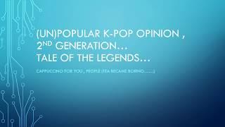 un popular k pop opinion (coffee,not tea!)
