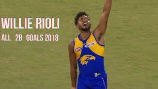 Willie Rioli all 28 Goals 2018