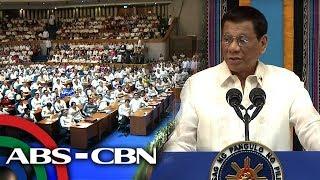 Part 3 Of President Rodrigo Dutertes State Of The Nation Address On July 22 2019