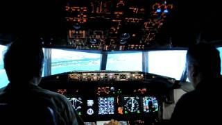 Flightdeck Solutions B737NG FBPT Arrival into Princess Julia Airport