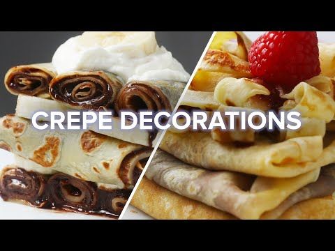 4 Creative Crepe Decorations