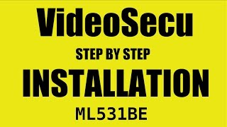 Installing Model ML531BE Flat Screen VideoSecu TV Wall Mount