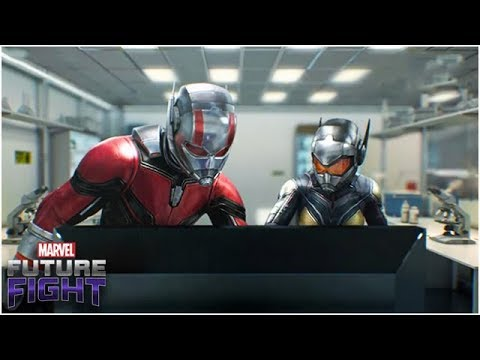 ANT-MAN & THE WASP????GHOST (Skill Preview *OUTDATED*) - Marvel Future Fight
