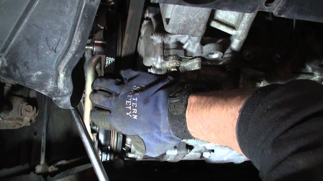 Mazda ac belt replacement