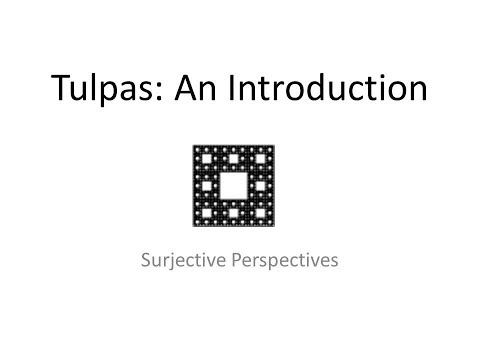 Tulpas: An Introduction