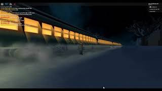 ROBLOX Boarding the Polar Express Train