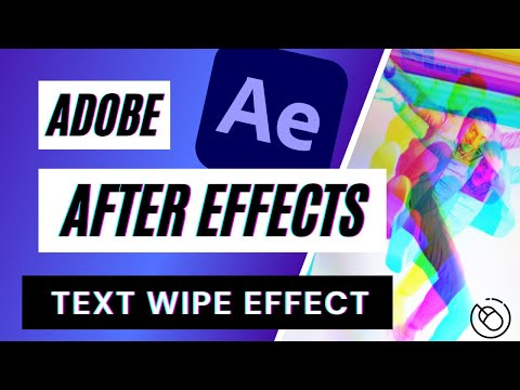 Text Wipe Effect Tutorial in Adobe After Effects