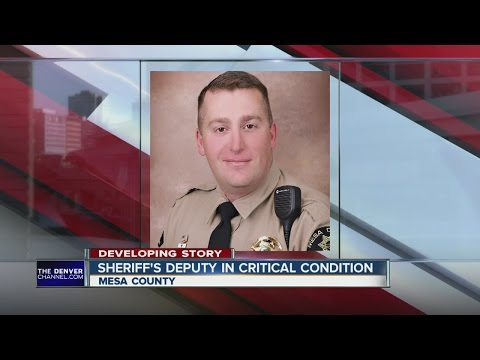 Mesa County Deputy in Critical Condition after being shot