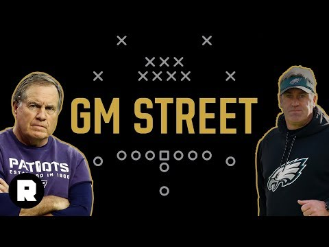 The Gronk-less Super Bowl Media Night, Brady's Beef, and the Left-Handed Eagles | (Ep. 230)
