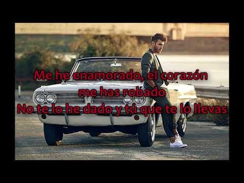 Antonio José - Me He Enamorado.  L  Lyrics