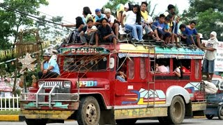 Jeepney Ride, Iloilo City Philippines