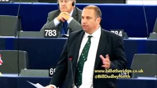 People do not want more EU central planning - Bill Etheridge MEP