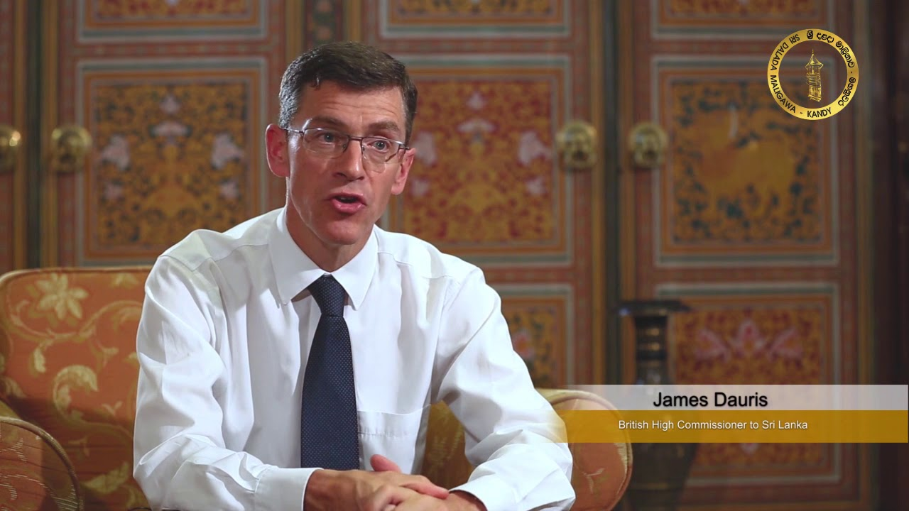 James Dauris British High Commissioner to Sri Lanka | The Valuable Ideas  about Perahera