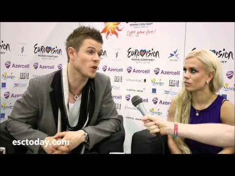 Eurovision Song Contest 2012 - Interview with Greta Salome & Jonsi - Iceland