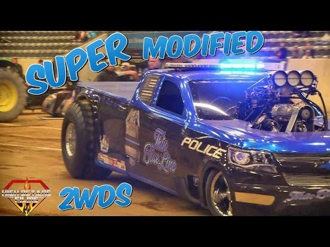 👍 GET BLOWN!!! Super Modified 2wd Trucks Kentucky Invitational Truck & Tractor Pull 2017