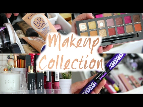 Makeup collection Alex 9 drawer tour!//SimplyEmmie
