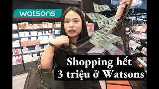 BIYW Diary: #22 WATSONS VIỆT NAM CÓ GÌ? SA MUA HẾT 3 TRIỆU 😱😱