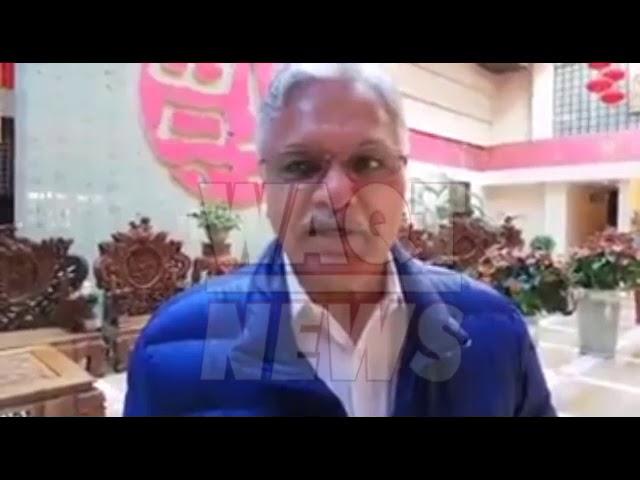ہانگ زو روانگی سے قبل مرکزی سیکرٹری جنرل ارشد داد کا ویڈیو پیغام