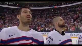 czech republic national anthem on iihf world championship 2015