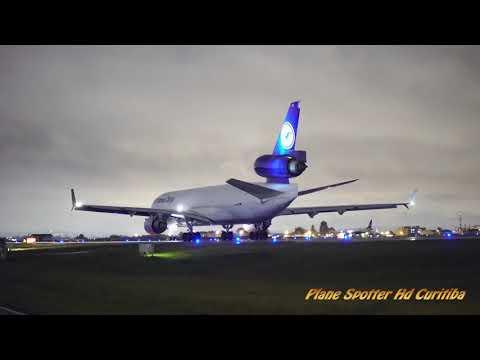 MD-11 Lufthansa D-AlCI (Night Flights)- Aeroporto Internacional Afonso Pena