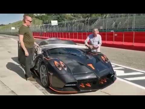 One-of-five Pagani Huayra Imola gives 'track car' a different meaning